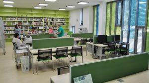 Exkurze ve studovně Pedagogické fakulty a Fakulty sociálních studií
