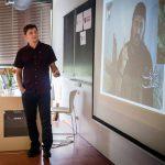 2.Marek Čejka a jeho přednáška o Islámském státu - Fotografie: Paľo Markovič
