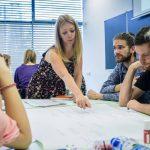 3.Workshop Evy Komlossyové o metodice projektového cyklu - Fotografie: Paľo Markovič