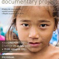 Kino Cineport vProvozu Hlubina aOU@LIVE vás zvou na dokumentární projekt opříbězích lidí, které zasáhlo nejničivější zemětřesení vNepálu za posledních 80 let.