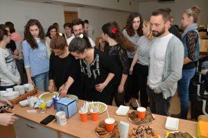 Rozloučení se studenty Erasmus+