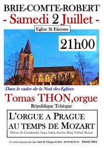 Plakát koncertu Tomáše Thona