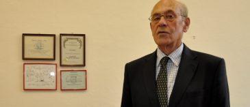 Prof. Ivan Křivý stál u zrodu Přírodovědecké fakulty OU a byl také jejím děkanem.