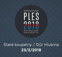 Reprezentační ples Ostravské univerzity 2018
