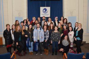 Předvánoční setkání se zahraničními studenty