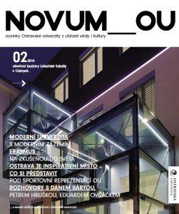 Titulní strana . čísla magazínu NOVUM_OU