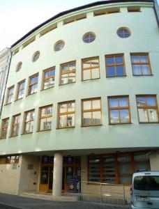 Budova Univerzitní knihovny, foto: Daniela Kolářová Jasenská