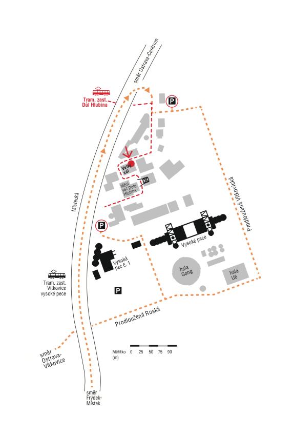 mapa_inaugurace rektora