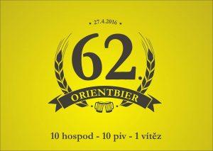Běh v maskách u piva. 10 hospod, 10 piv, ale jen jeden vítěz. Studentská akce OrientBeer je starší než naše univerzita. Zúčastníte se taky 62. ročníku?